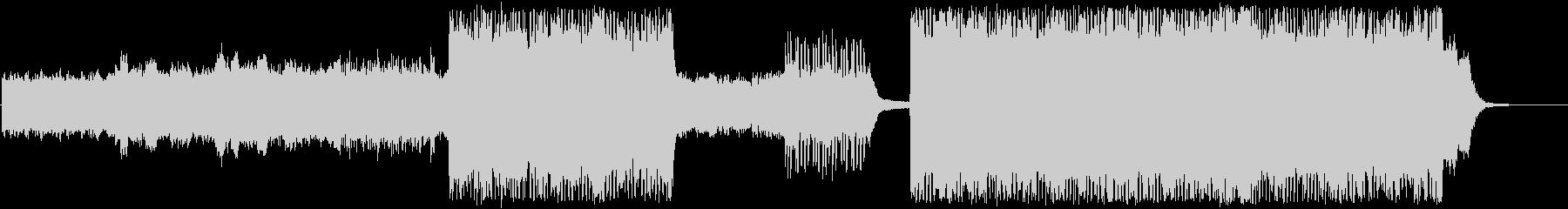 幻想的なテクスチャー ドラムンベースの未再生の波形