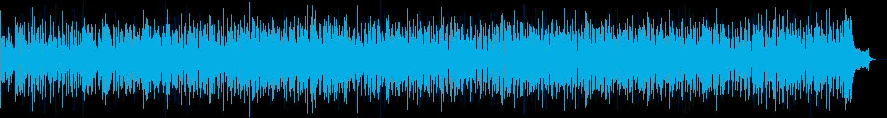 ブルージーなフィドルの再生済みの波形