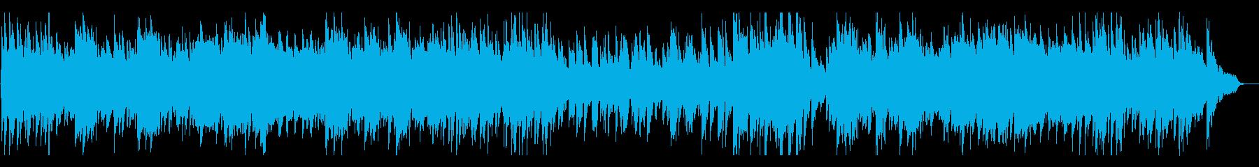 バーに似合う、ピアノ×サックスのバラードの再生済みの波形