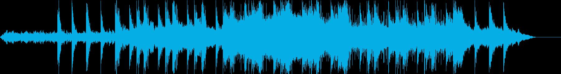 神秘的なドキュメンタリー番組向けBGMの再生済みの波形