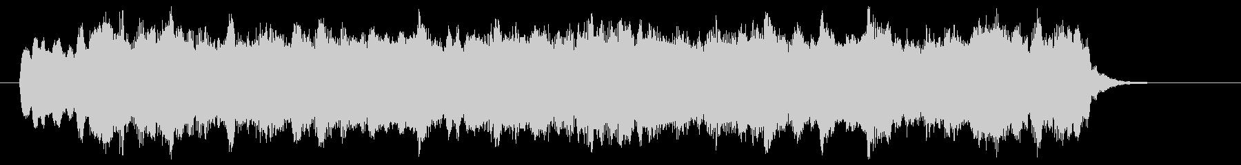 ディズニー風のショートBGM、ジングルの未再生の波形