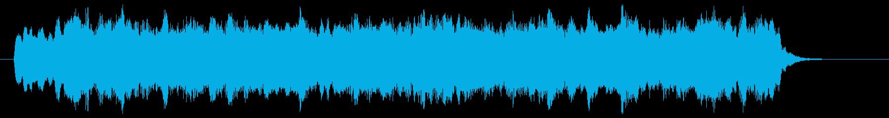ディズニー風のショートBGM、ジングルの再生済みの波形
