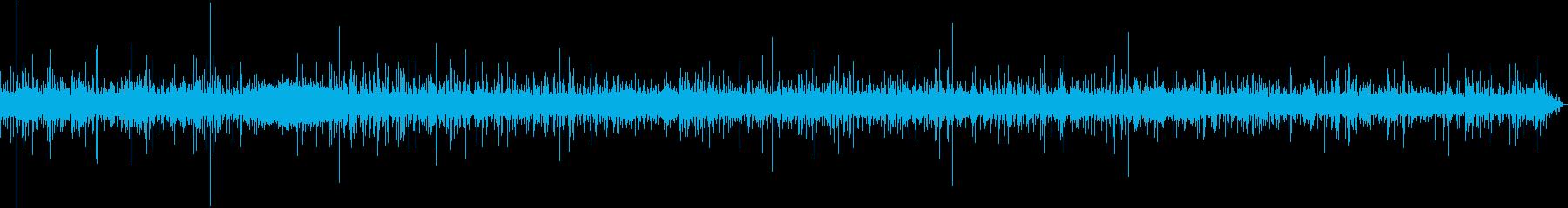 【生録音】日本 東京に降る雨の音 7の再生済みの波形
