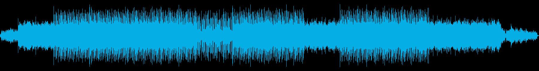 電子楽器の怪しげなメロディーが魅力的な曲の再生済みの波形