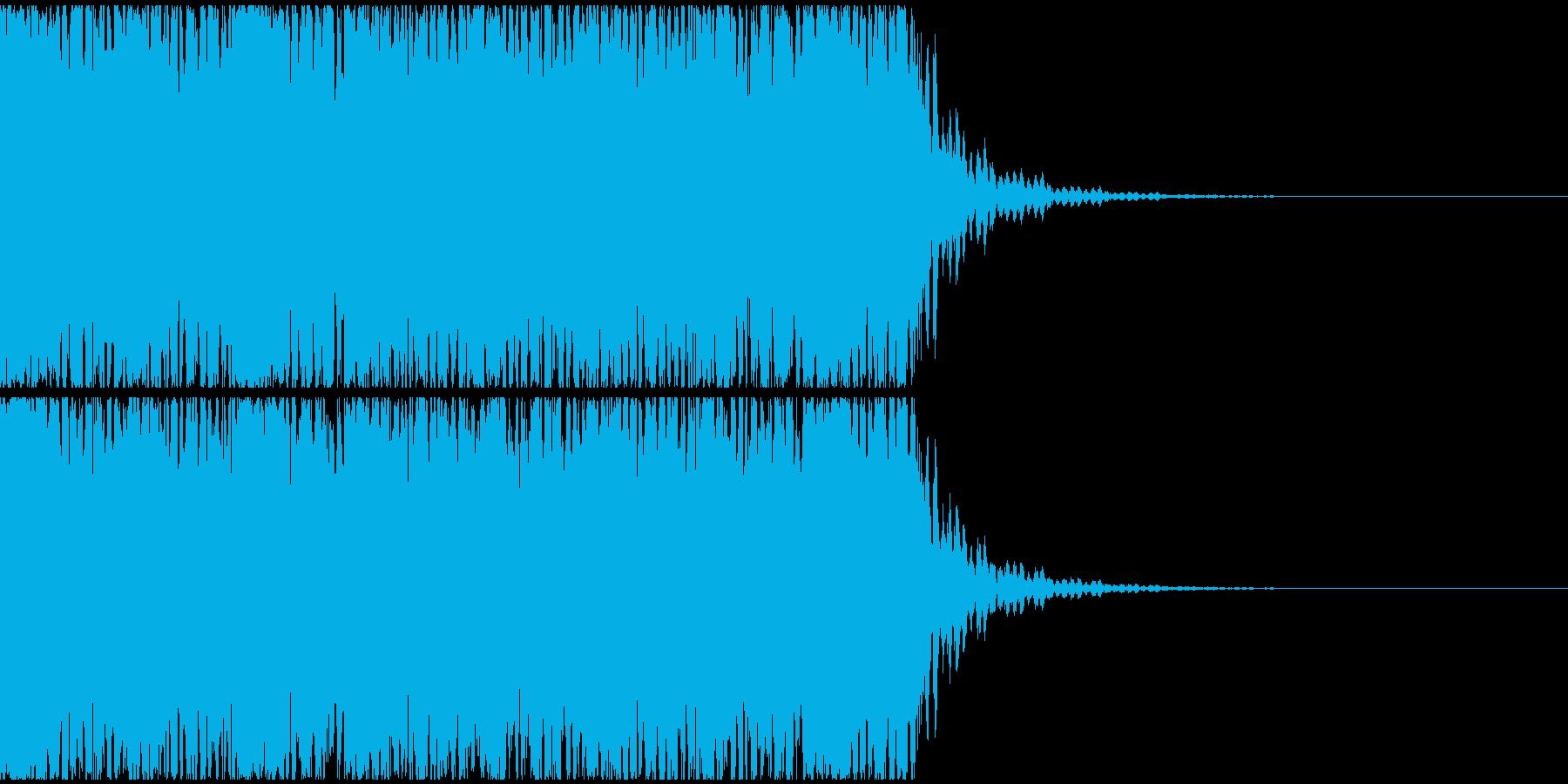 【エレクトロニカ】テクノ、ジングル1 の再生済みの波形