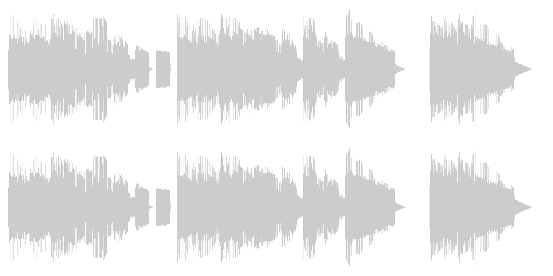 NES STG B04-2(クリア1)の未再生の波形