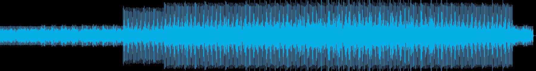 テクノ。夜、セクシーの再生済みの波形