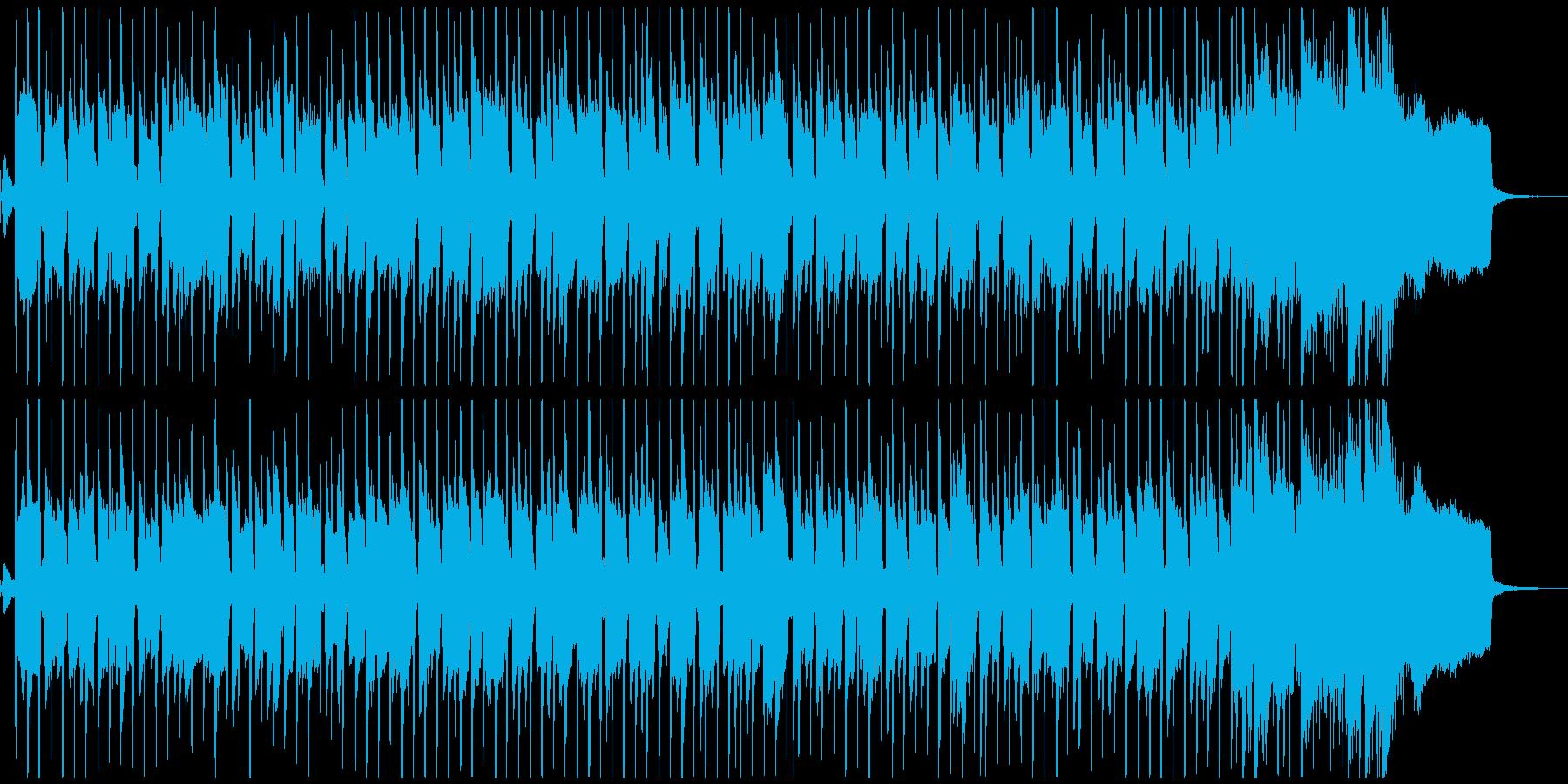 製品紹介・操作画面・プレゼン・宣伝にの再生済みの波形