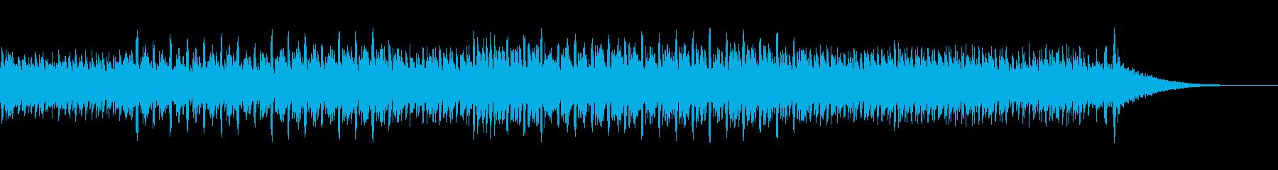 スピード感あるかっこいいメロディーの再生済みの波形