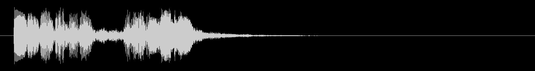 8ビット風システム音-18-3_revの未再生の波形