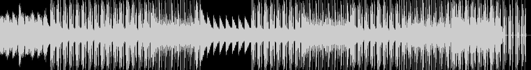 ピアノを基調としたHipHopの未再生の波形
