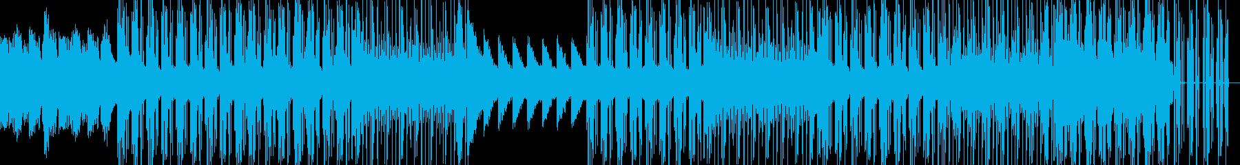 ピアノを基調としたHipHopの再生済みの波形