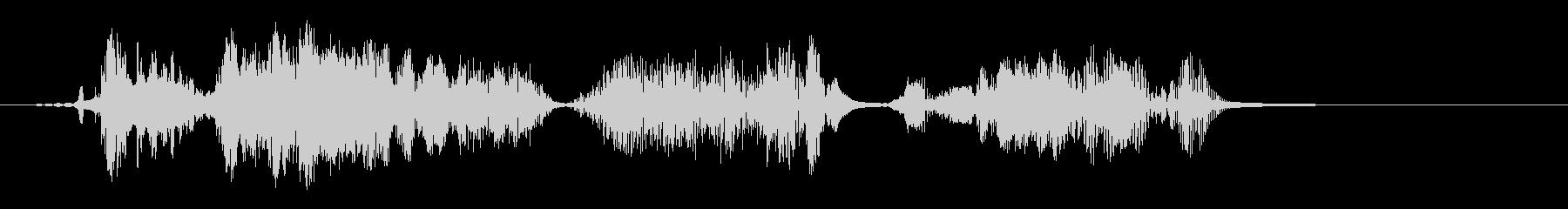 ショートカット遷移2の未再生の波形