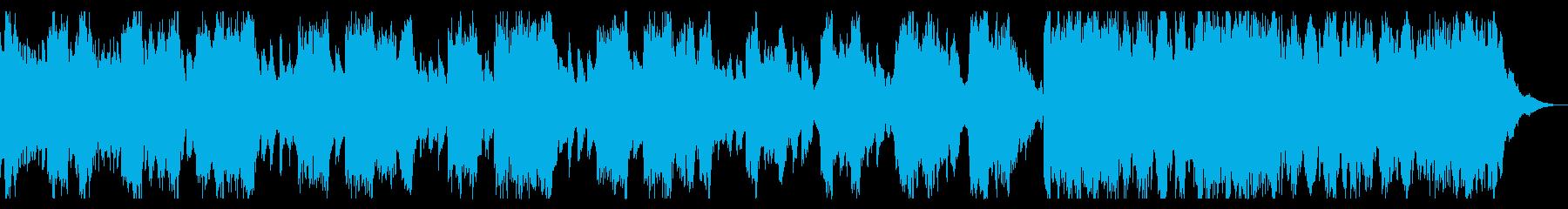 ピアノとストリングス 切ないダークな曲の再生済みの波形