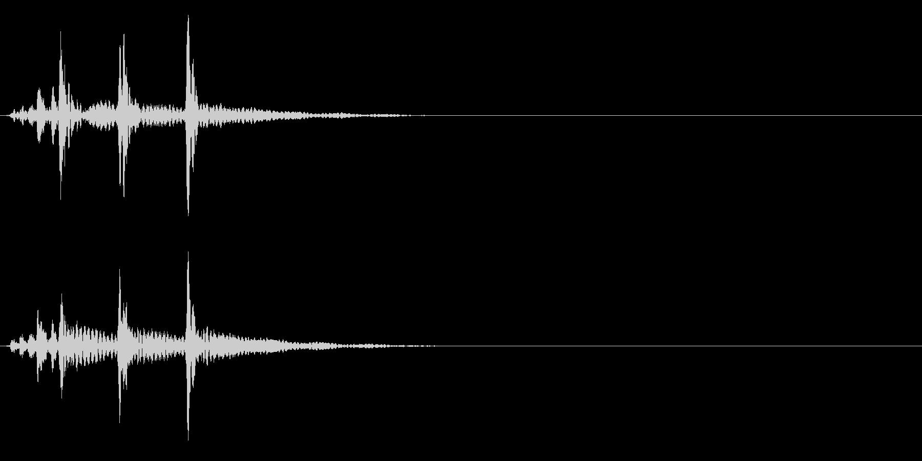 ティンパニ、(手)、「バトルフィナ...の未再生の波形