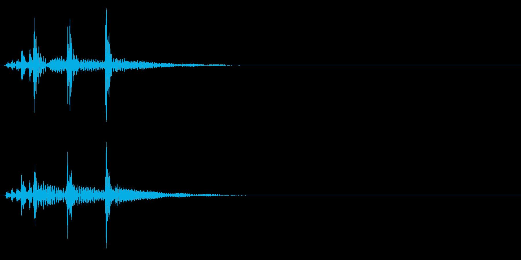 ティンパニ、(手)、「バトルフィナ...の再生済みの波形