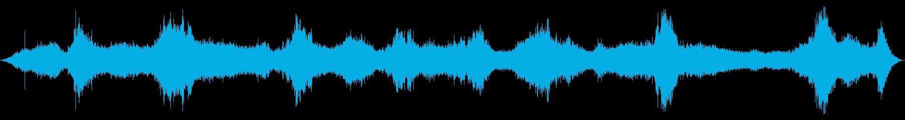 海洋:光から中程度の波、コンクリー...の再生済みの波形