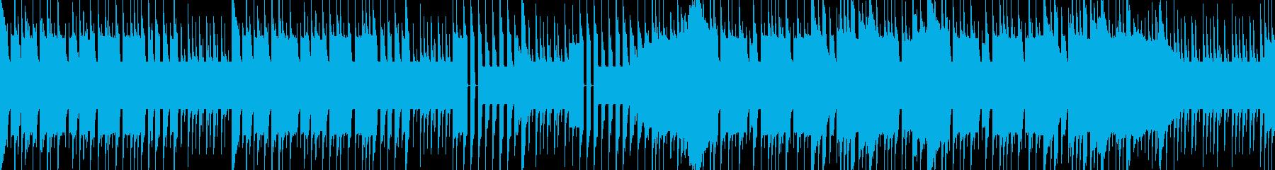 ライバルに出会った風チップチューンBGMの再生済みの波形
