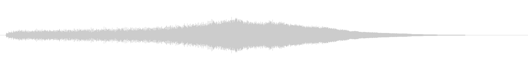 素材 オルガンスウェルメジャー01の未再生の波形