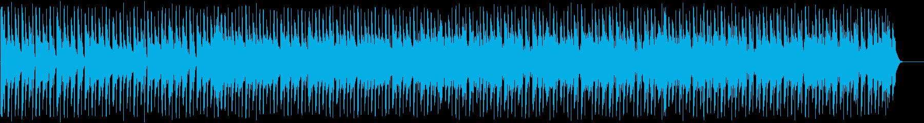 きらびやかなファンクディスコ_612_2の再生済みの波形