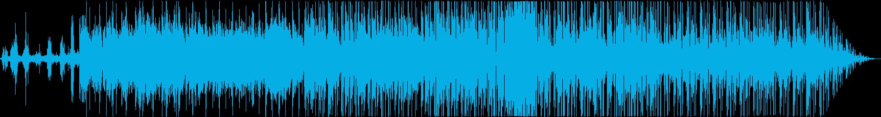 エレピをフィーチャーした爽やかなBGMの再生済みの波形
