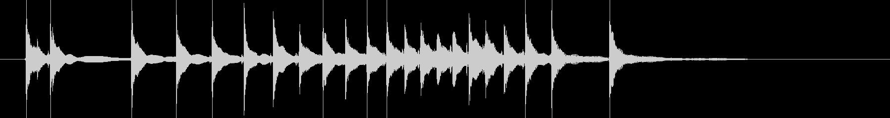 締める時のお決まりフレーズ(三味線で)1の未再生の波形