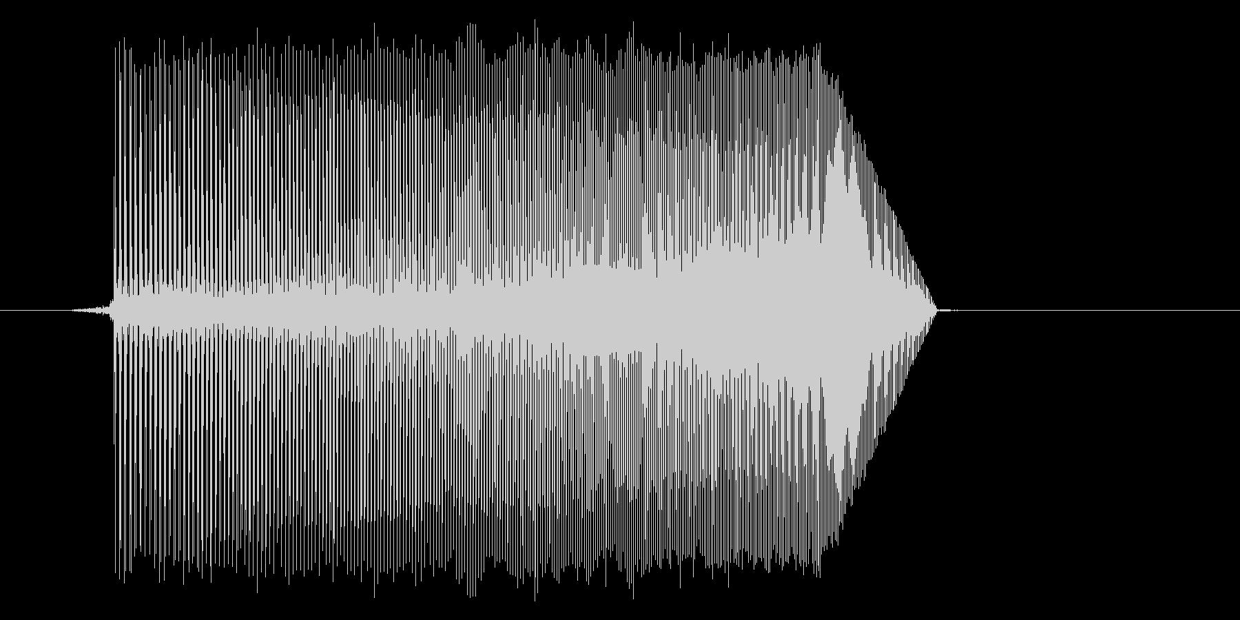 ゲーム(ファミコン風)ジャンプ音_047の未再生の波形