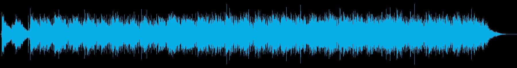 フレンチポップなトランペットインストの再生済みの波形