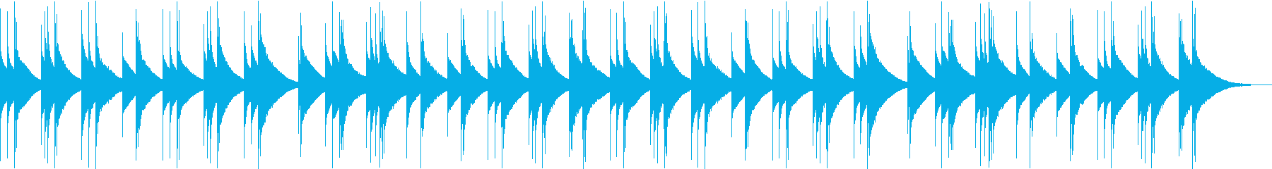 アメイジンググレイス オルゴールver.の再生済みの波形