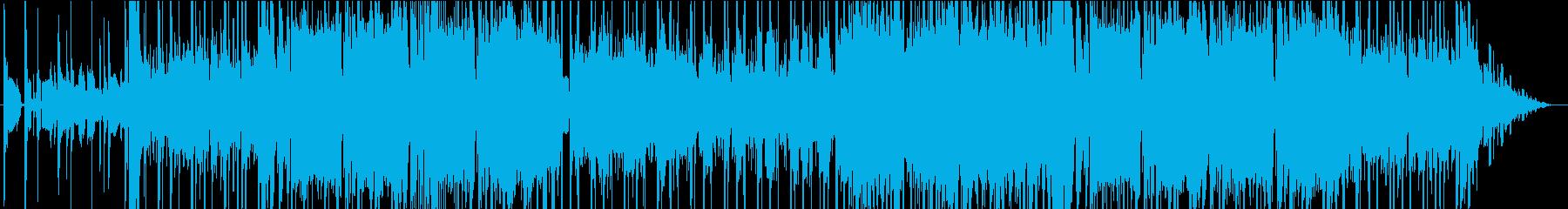 アコーディオンのLofihiphopの再生済みの波形