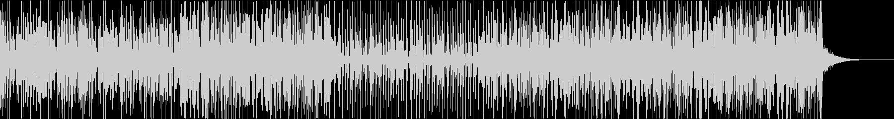 カホンを使用したエレクトロファンクビートの未再生の波形