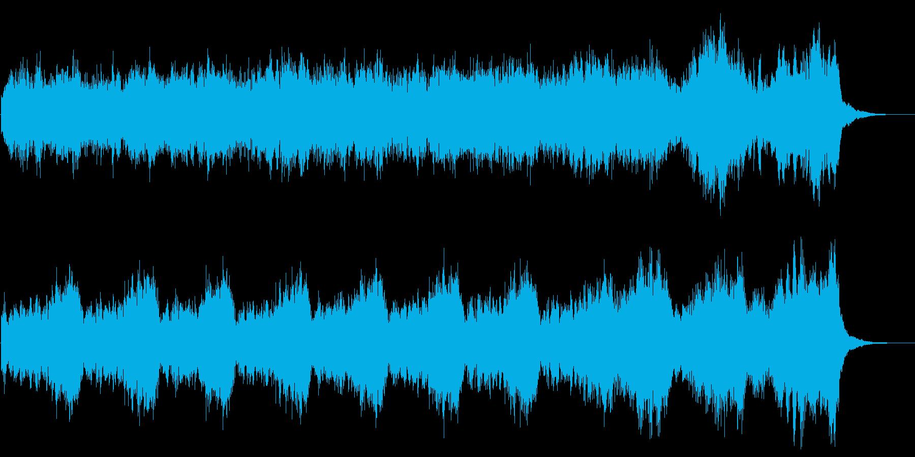 ダークファンタジーなジングル 敵の脅威の再生済みの波形
