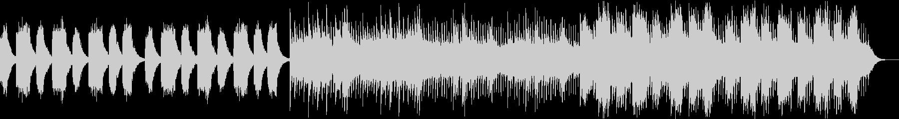 シンプルで壮大なストリングスバラードの未再生の波形