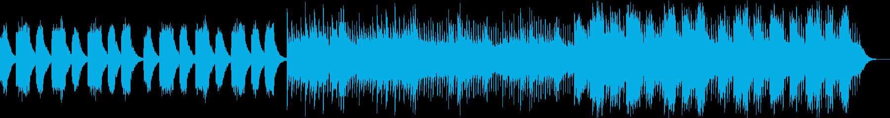 シンプルで壮大なストリングスバラードの再生済みの波形