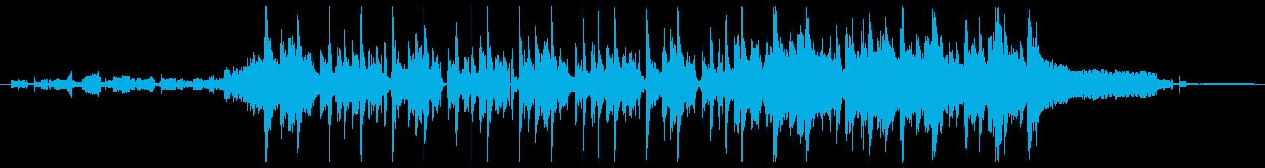 これは、ヒップホップとエレクトロの...の再生済みの波形
