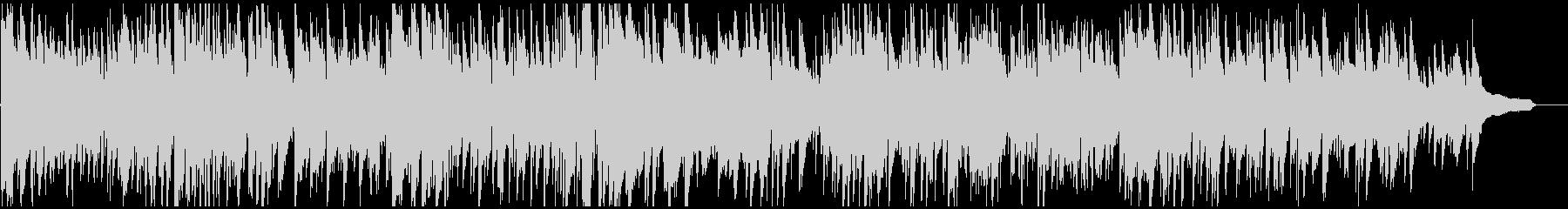 ファッショナブルなボサノバ・サックスの未再生の波形