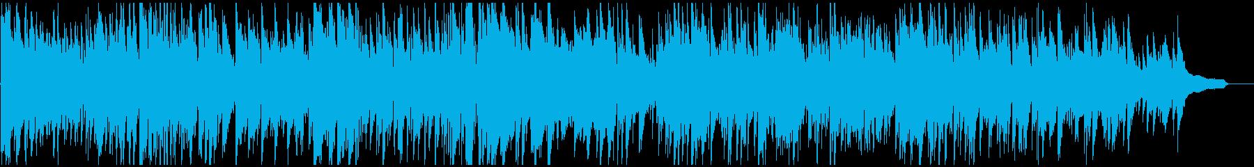 ファッショナブルなボサノバ・サックスの再生済みの波形