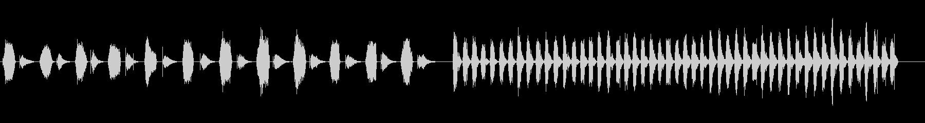 空気、遅いレギュレーター_レギュレ...の未再生の波形