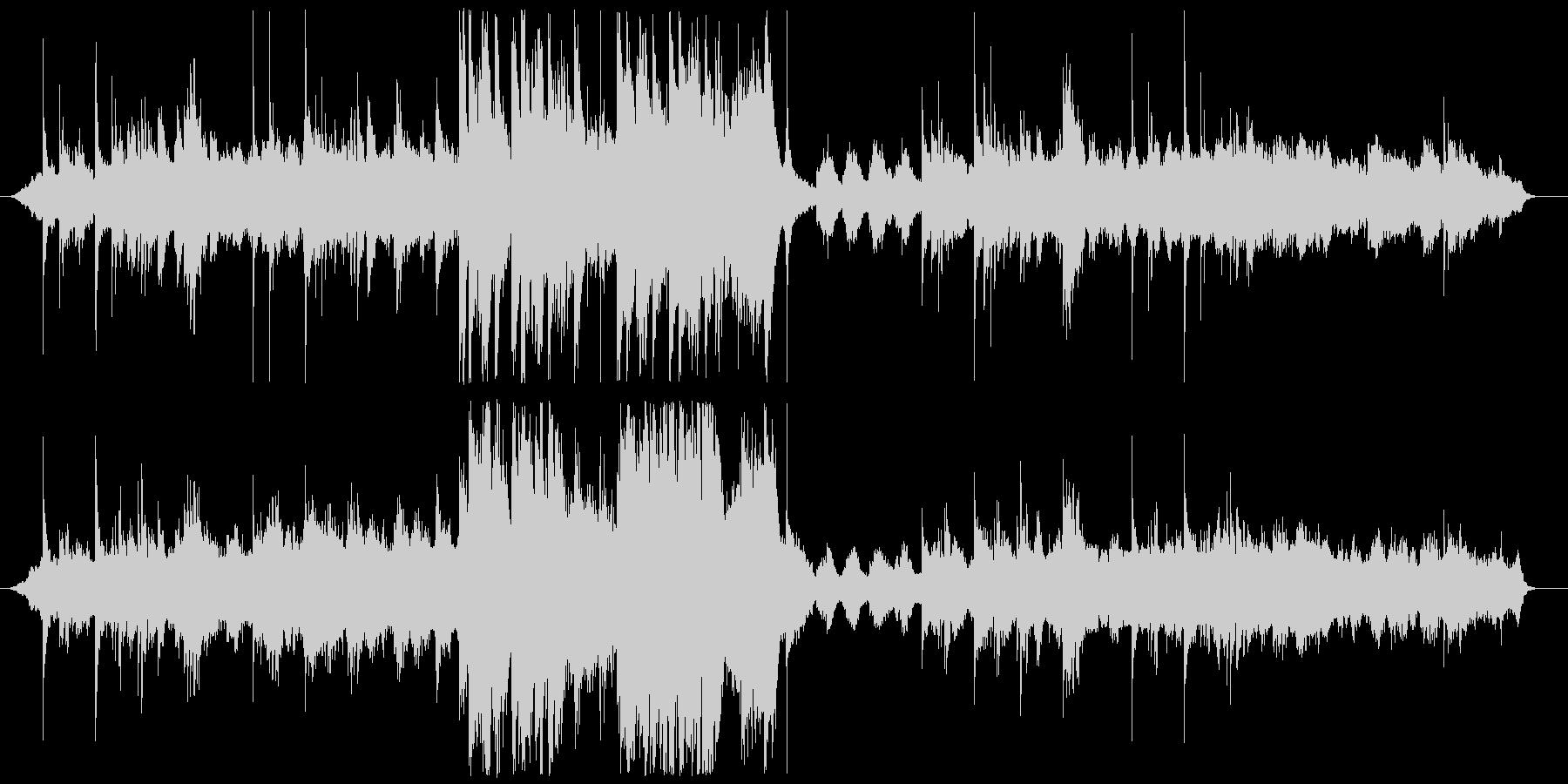 ピアノとストリングスによるファンタジーの未再生の波形