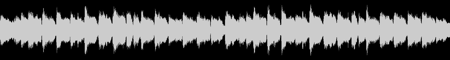 子守唄の様な弦楽器のアンサンブルのループの未再生の波形