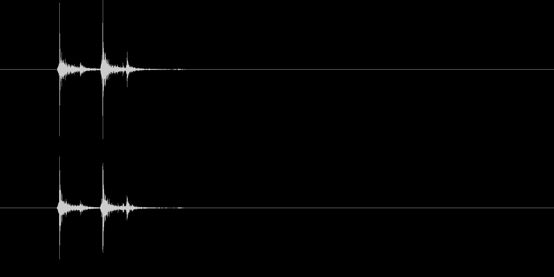 PCキーボード入力2の未再生の波形
