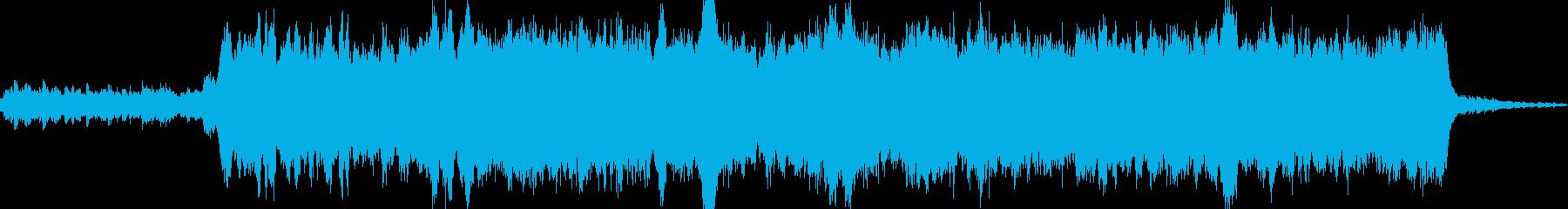 エンドロールにぴったりなオーケストラ曲の再生済みの波形