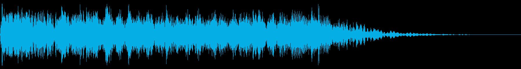 YouTube尺八による和風ジングル04の再生済みの波形