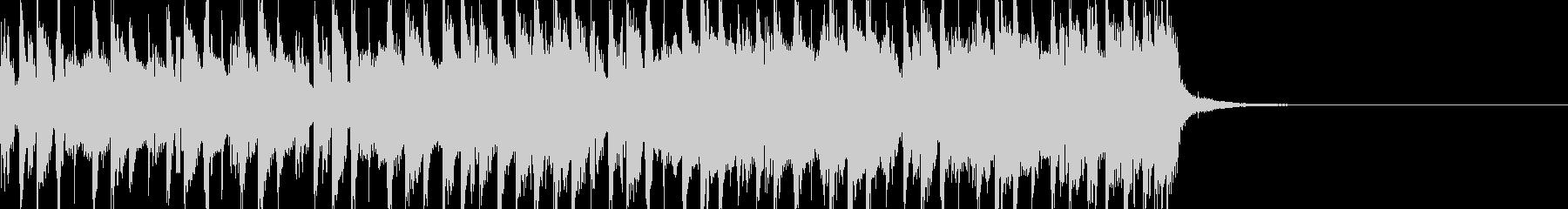 CM映像:近未来的アンビエント15secの未再生の波形