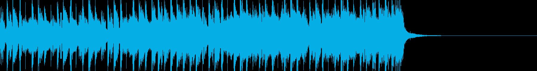 CM映像:近未来的アンビエント15secの再生済みの波形