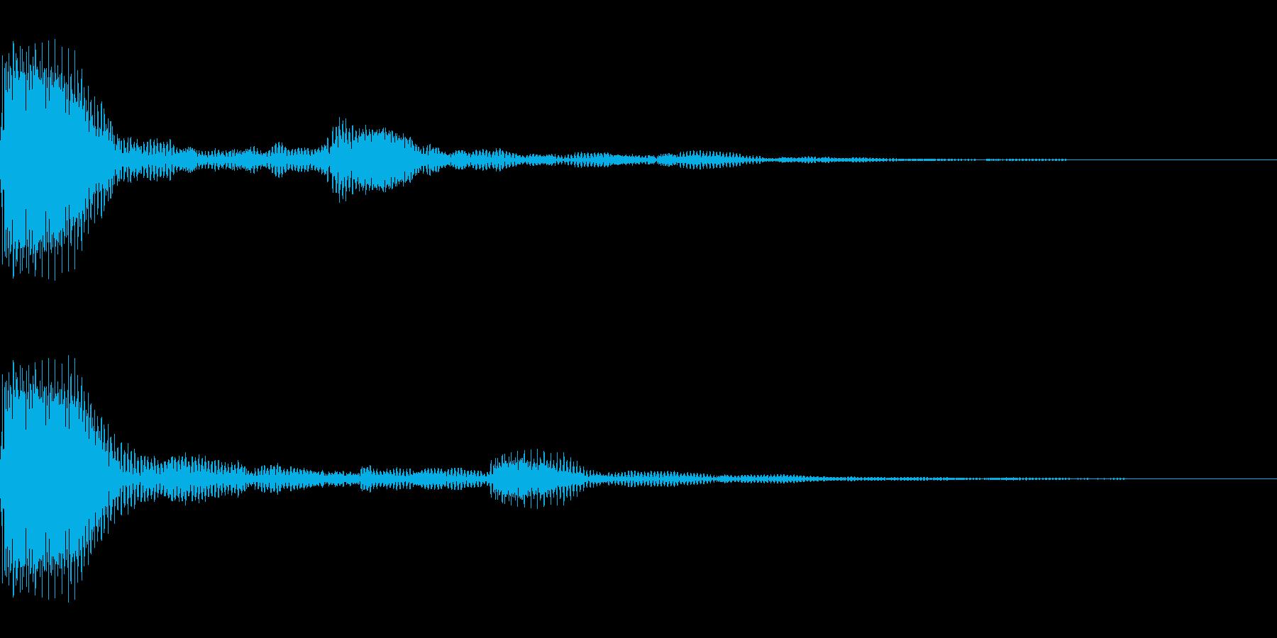 プンプポン(01_クリック_04)の再生済みの波形