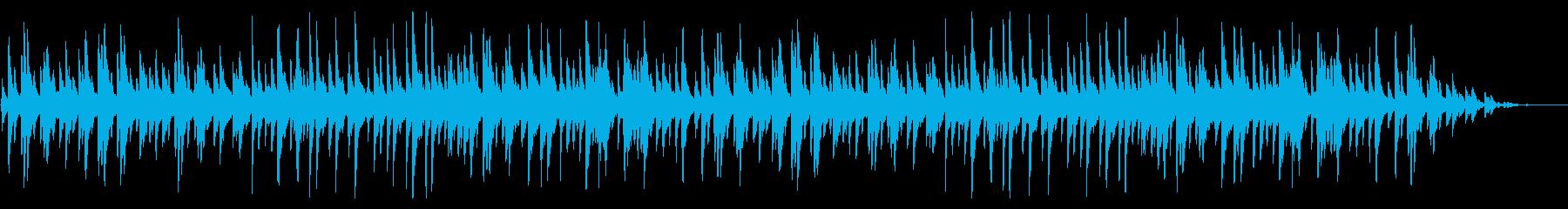 童謡「浜辺の歌」琴のシンプルなアレンジの再生済みの波形