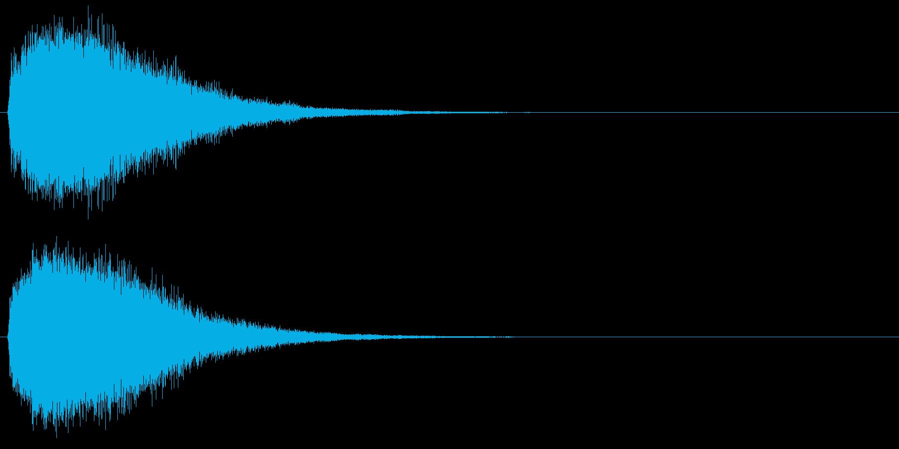 魔法・ポジティブ系キラキラ2の再生済みの波形