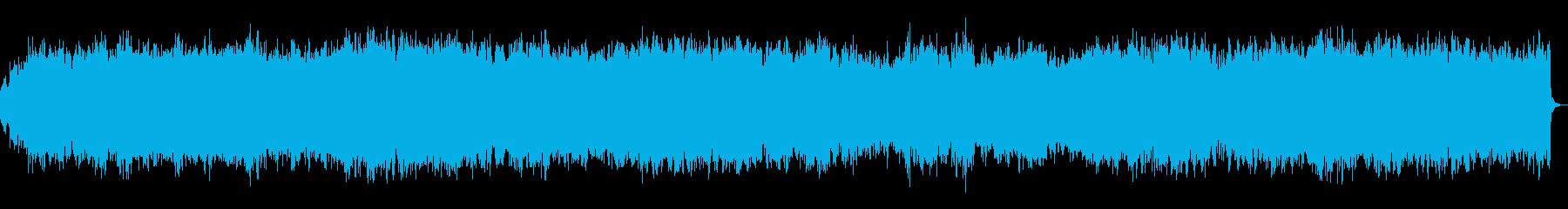 パイプオルガンによる祝いの独奏曲の再生済みの波形