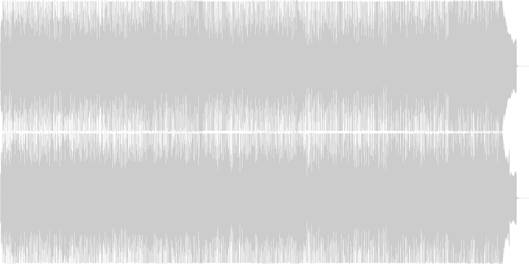 元気 爽やか 青春 疾走 ロックBGM の未再生の波形
